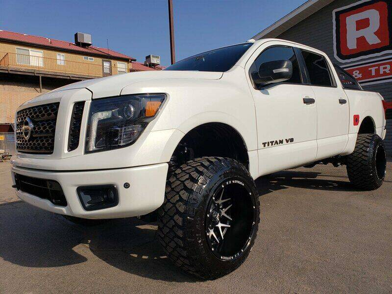 2018 Nissan Titan for sale at Red Rock Auto Sales in Saint George UT