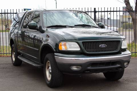 2001 Ford F-150 for sale at Avanesyan Motors in Orem UT