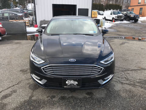 2018 Ford Fusion for sale at Deals on Wheels in Nanuet NY