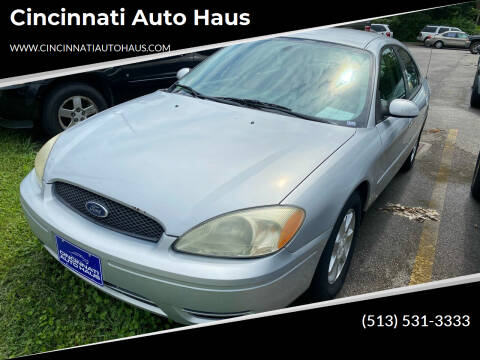 2007 Ford Taurus for sale at Cincinnati Auto Haus in Cincinnati OH