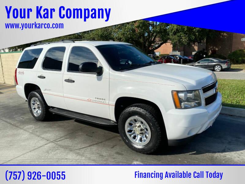 2010 Chevrolet Tahoe for sale at Your Kar Company in Norfolk VA