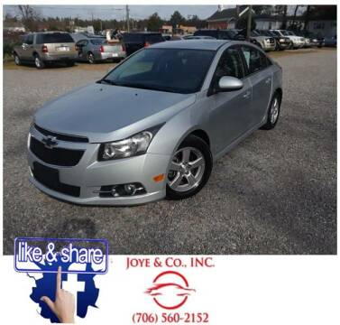 2014 Chevrolet Cruze for sale at Joye & Company INC, in Augusta GA
