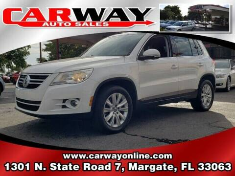 2009 Volkswagen Tiguan for sale at CARWAY Auto Sales in Margate FL