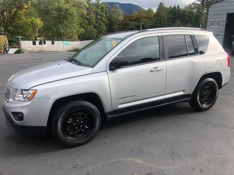 2011 Jeep Compass for sale at 3 BOYS CLASSIC TOWING and Auto Sales in Grants Pass OR