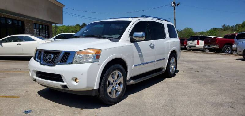 2010 Nissan Armada for sale at WHOLESALE AUTO GROUP in Mobile AL
