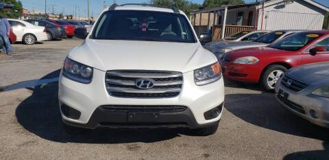 2012 Hyundai Santa Fe for sale at Anthony's Auto Sales of Texas, LLC in La Porte TX