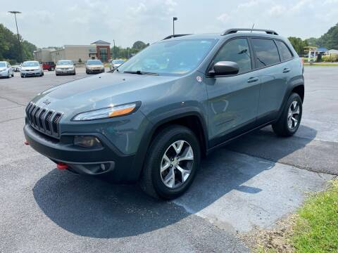 2014 Jeep Cherokee for sale at McCully's Automotive - Trucks & SUV's in Benton KY