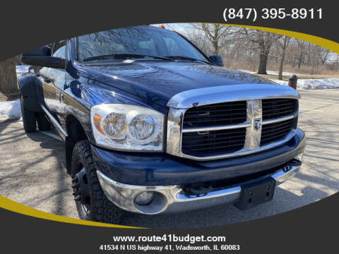 2007 Dodge Ram Pickup 3500 for sale at Route 41 Budget Auto in Wadsworth IL