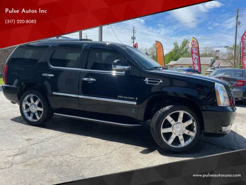 2007 Cadillac Escalade for sale at Pulse Autos Inc in Indianapolis IN