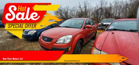 2007 Kia Rio for sale at New Start Motors LLC - Rockville in Rockville IN