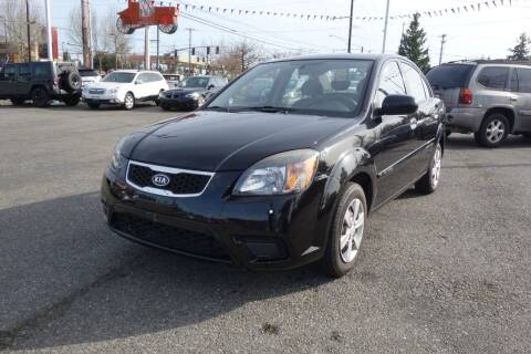 2011 Kia Rio for sale at Leavitt Auto Sales and Used Car City in Everett WA
