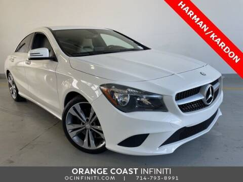2016 Mercedes-Benz CLA for sale at ORANGE COAST CARS in Westminster CA