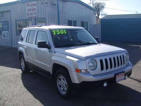 2011 Jeep Patriot for sale at Primo Auto Sales in Merced CA