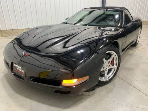 2002 Chevrolet Corvette for sale at EUROPEAN AUTOHAUS, LLC in Holland MI