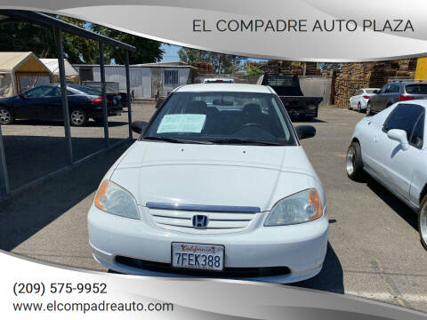2001 Honda Civic for sale at El Compadre Auto Plaza in Modesto CA
