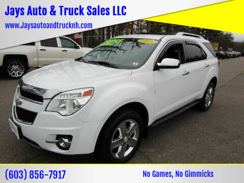 2015 Chevrolet Equinox for sale at Jays Auto & Truck Sales LLC in Loudon NH