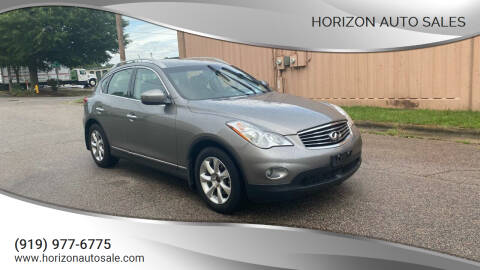 2009 Infiniti EX35 for sale at Horizon Auto Sales in Raleigh NC