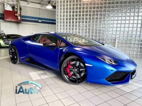 2015 Lamborghini Huracan for sale at iAuto in Cincinnati OH