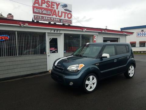 2010 Kia Soul for sale at Apsey Auto in Marshfield WI