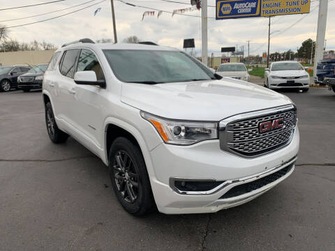 2017 GMC Acadia for sale at Summit Palace Auto in Waterford MI