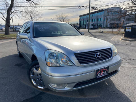 2003 Lexus LS 430 for sale at JerseyMotorsInc.com in Teterboro NJ