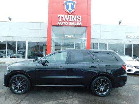 2016 Dodge Durango for sale at Twins Auto Sales Inc Redford 1 in Redford MI