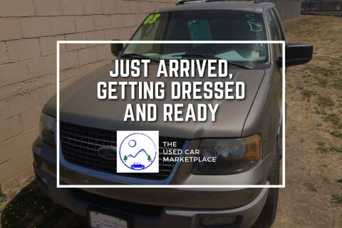 2003 Ford Expedition for sale at The Used Car MarketPlace in Newberg OR