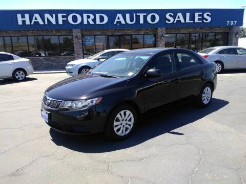 2013 Kia Forte for sale at Hanford Auto Sales in Hanford CA