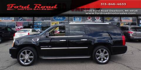 2012 Cadillac Escalade ESV for sale at Ford Road Motor Sales in Dearborn MI