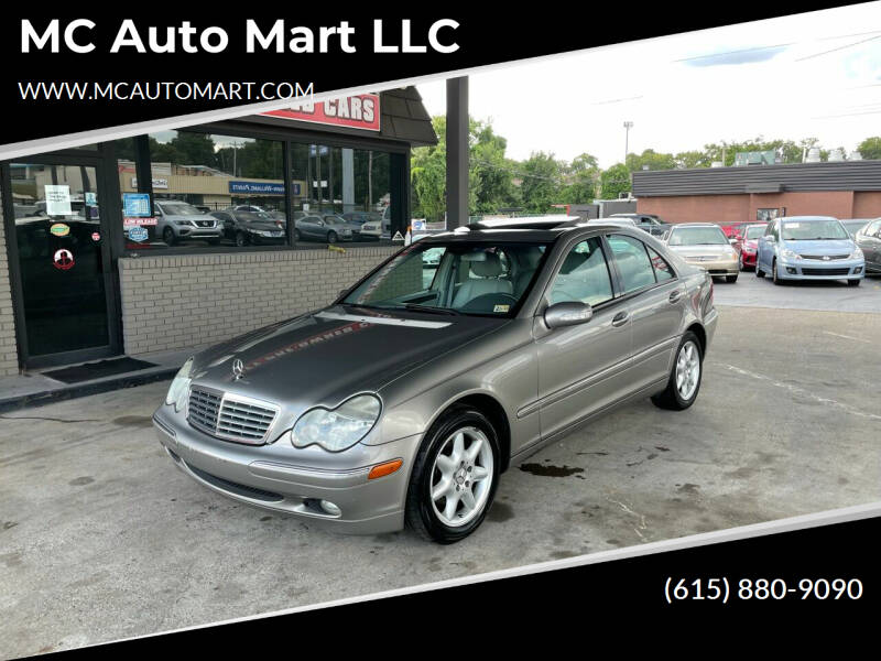2004 Mercedes-Benz C-Class for sale at MC Auto Mart LLC in Hermitage TN