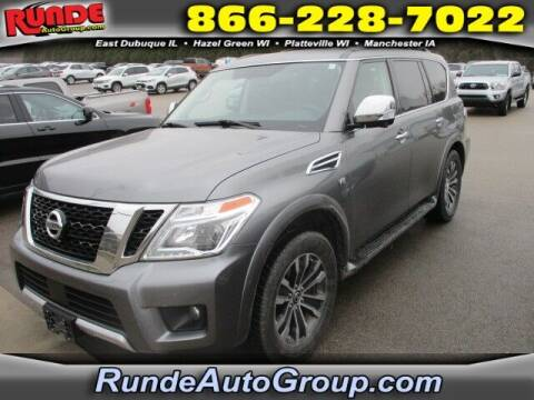 2018 Nissan Armada for sale at Runde Chevrolet in East Dubuque IL