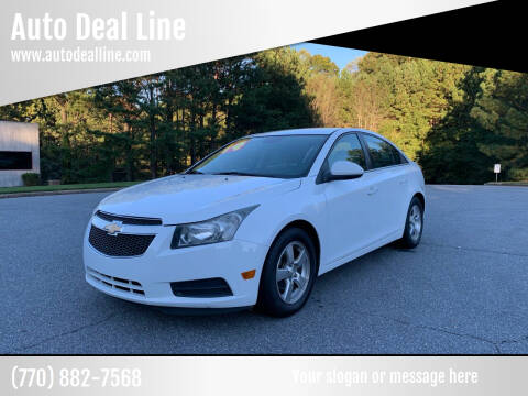 2014 Chevrolet Cruze for sale at Auto Deal Line in Alpharetta GA
