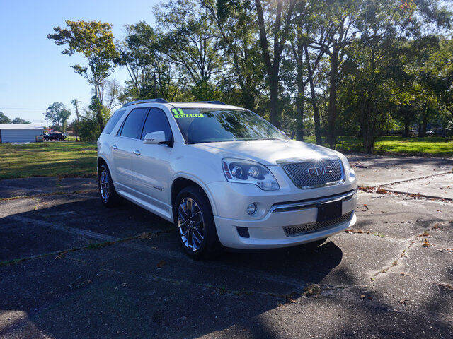 2011 GMC Acadia for sale at BLUE RIBBON MOTORS in Baton Rouge LA