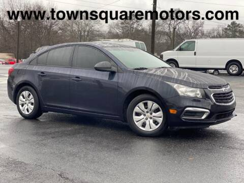 2015 Chevrolet Cruze for sale at Town Square Motors in Lawrenceville GA
