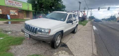 2003 Jeep Grand Cherokee for sale at C.J. AUTO SALES llc. in San Antonio TX