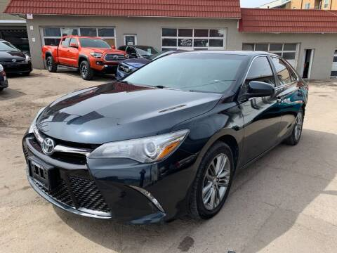 2016 Toyota Camry for sale at STS Automotive in Denver CO