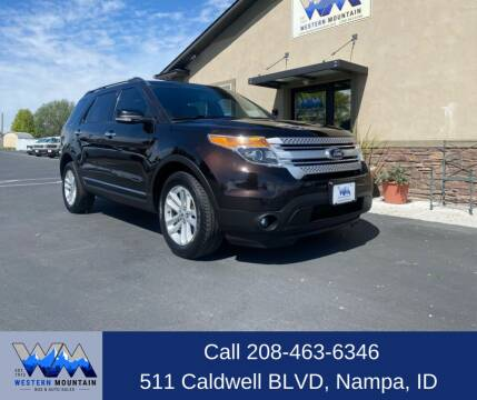 2014 Ford Explorer for sale at Western Mountain Bus & Auto Sales in Nampa ID