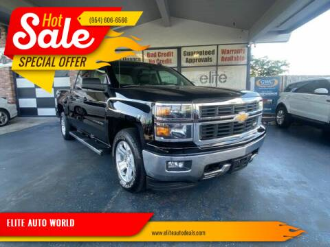 2014 Chevrolet Silverado 1500 for sale at ELITE AUTO WORLD in Fort Lauderdale FL