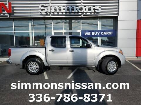 2015 Nissan Frontier for sale at SIMMONS NISSAN INC in Mount Airy NC