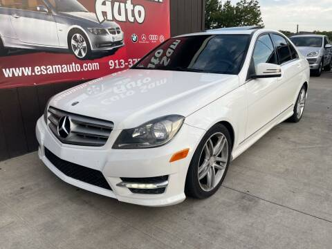 2014 Mercedes-Benz C-Class for sale at Euro Auto in Overland Park KS