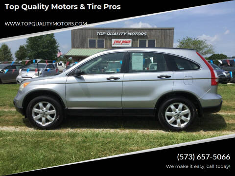 2007 Honda CR-V for sale at Top Quality Motors & Tire Pros in Ashland MO