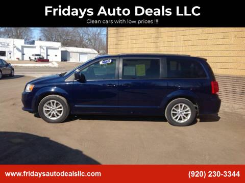 2014 Dodge Grand Caravan for sale at Fridays Auto Deals LLC in Oshkosh WI