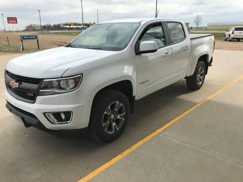 2017 Chevrolet Colorado for sale at Tyndall Motors in Tyndall SD