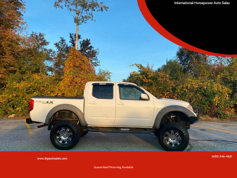 2012 Nissan Frontier for sale at International Horsepower Auto Sales in Warwick RI