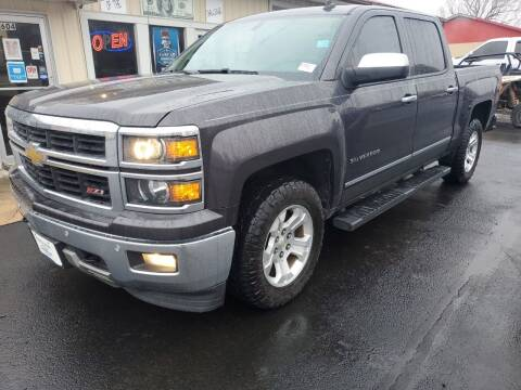2014 Chevrolet Silverado 1500 for sale at Bailey Family Auto Sales in Lincoln AR