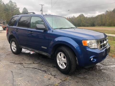 2008 Ford Escape for sale at Monroe Auto's, LLC in Parsons TN