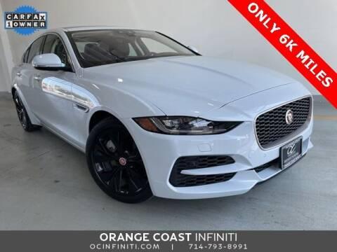 2020 Jaguar XE for sale at ORANGE COAST CARS in Westminster CA