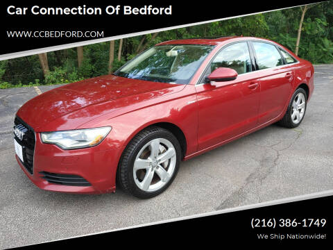 2012 Audi A6 for sale at Car Connection of Bedford in Bedford OH