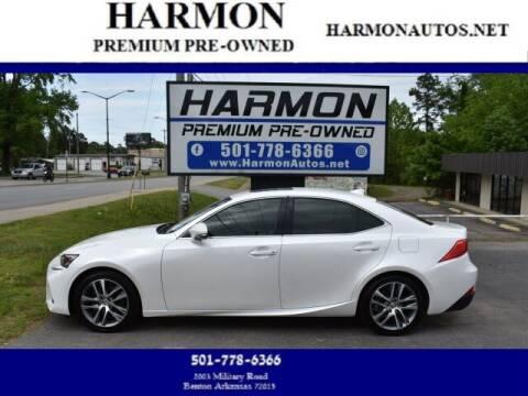 2019 Lexus IS 300 for sale at Harmon Premium Pre-Owned in Benton AR