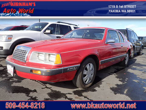 1984 Ford Thunderbird for sale at Bruce Kirkham Auto World in Yakima WA